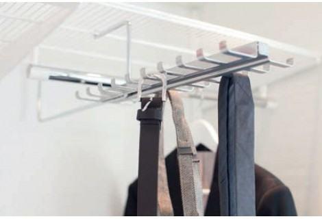 Подвеска для галстуков и ремней под проволочную полку