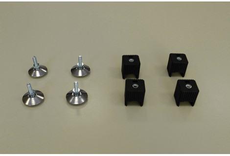 Ножки для стеллажа, регулируемые 4 шт/уп