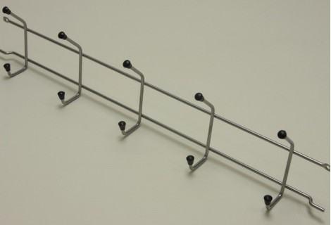 Вешалка с крючками 52 см
