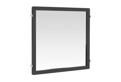 Зеркало Decor, на навесную направляющую 598х25х635 мм