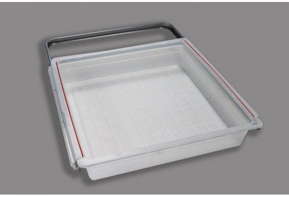 Рамка+корзина на 1 рельс, 45 см (45х44х8.8 см)