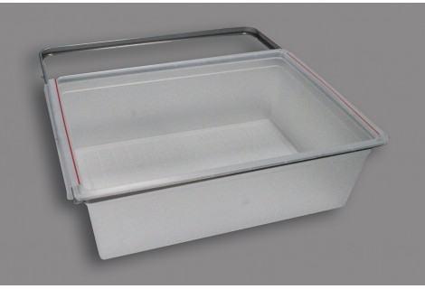 Рамка+корзина на 2 рельса, 60 см (60х44х8.8 см)
