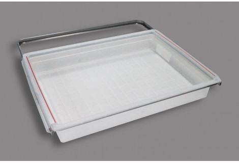 Рамка+корзина на 1 рельс, 60 см (60х44х8.8 см)