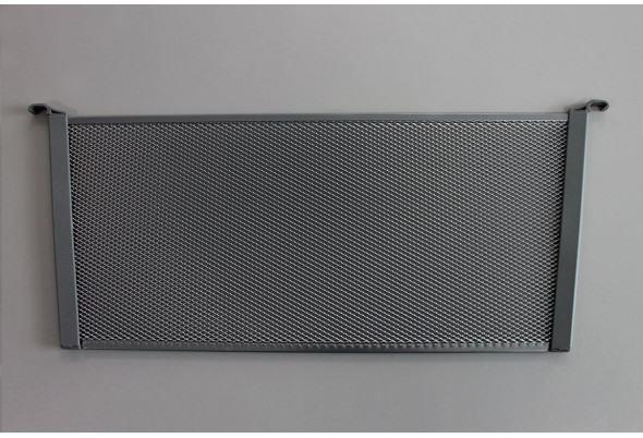 Разделитель для корзины Mesh, высота 185 мм, глубина 436 мм, платина