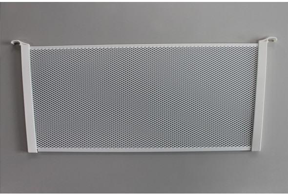 Разделитель для корзины Mesh,  высота 185 мм, глубина 436 мм, белый