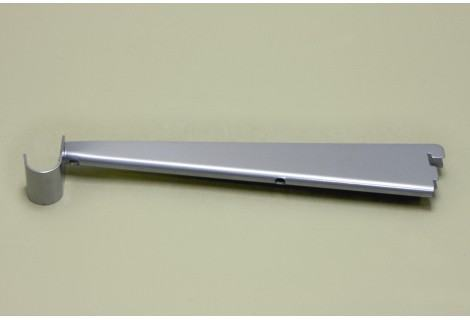 Кронштейн для ЛДСП полок 320 мм с держателем под штангу