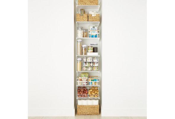 Встроенное хранение на кухне