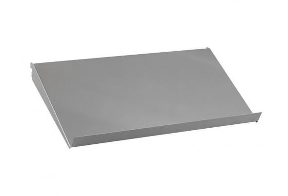 Наклонная металлическая полка, шир 60 см