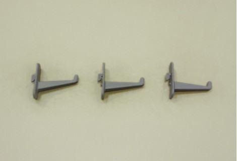 Крючок длинный для перфорированной панели, 3 шт/уп