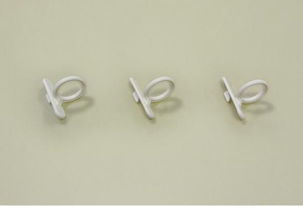 Крючок кольцевой для перфорированной панели, 3 шт/уп