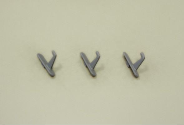 Крючок короткий для перфорированной панели, 3 шт/уп